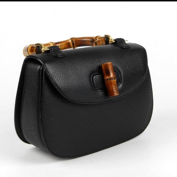 d105c2b4e5295b Gucci Bags | Rare Vintage Bamboo Flap Top Handle | Poshmark